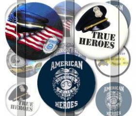 Police Heroes 1 INCH..