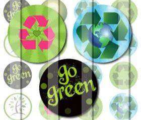 Go Green Recycle Sym..